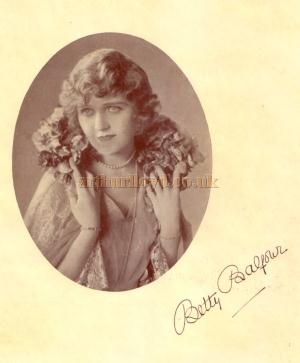 Betty Balfour - From the Theatre's opening souvenir programme for October 11th 1926.