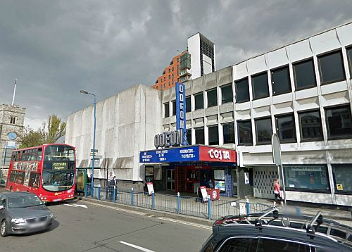 A Google StreetView Image of the Odeon Cinema, Putney - Click to Interact.
