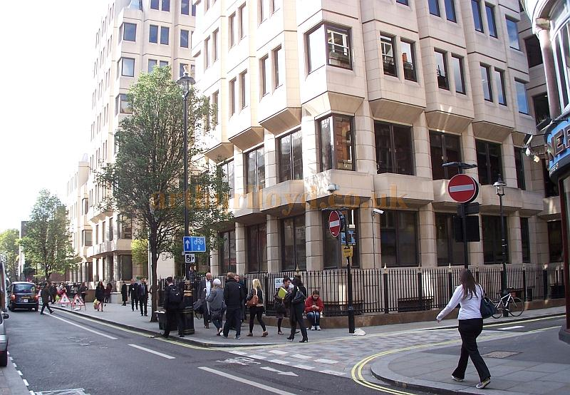 The building which now stands on the site of the Queen's Theatre, Long Acre in October 2011 - Photo M.L.