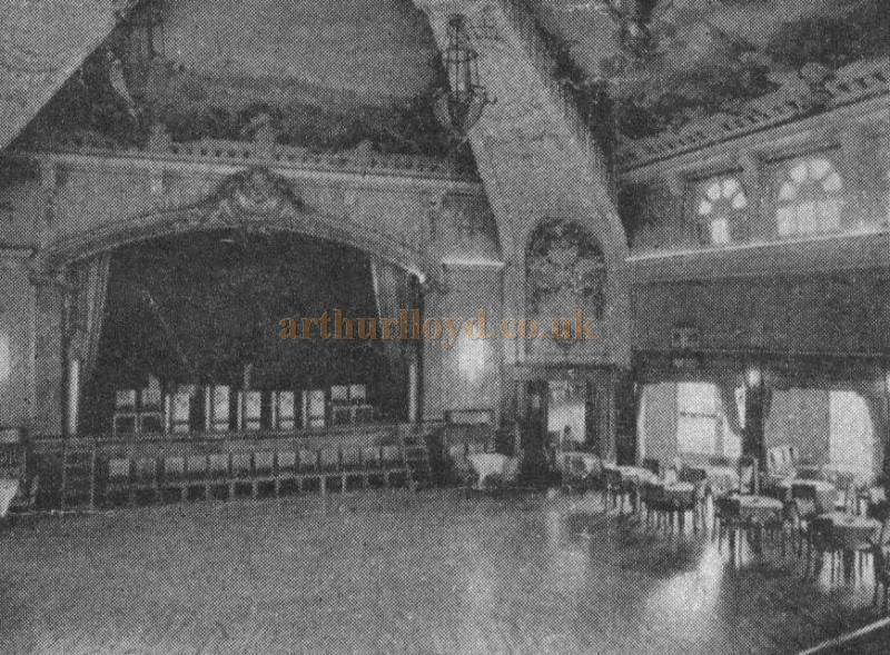 The Karsino Ballroom and Dining Theatre, Tagg's Island in the late 1940s - Courtesy Alan Chudley