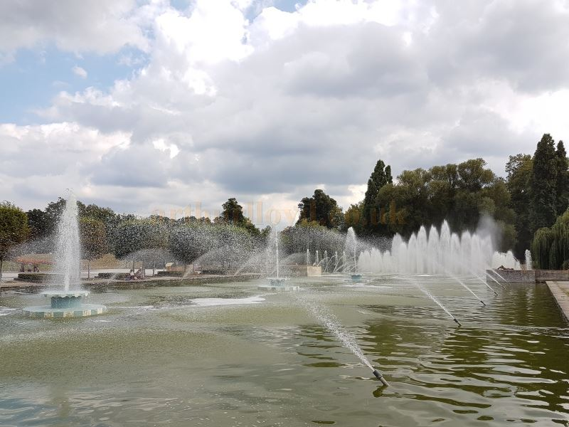 The Restored Battersea Park Fountains in August 2016