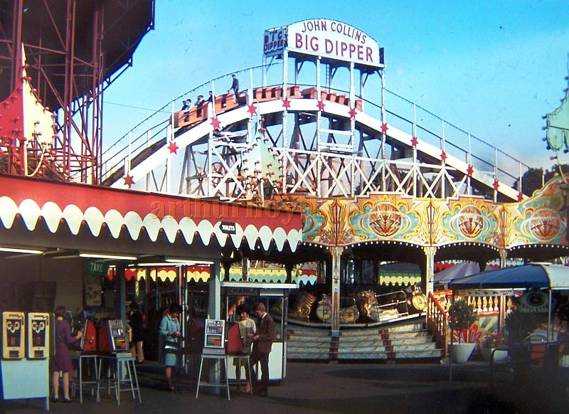 The Big Dipper - Click for more images of the park in the 1960s