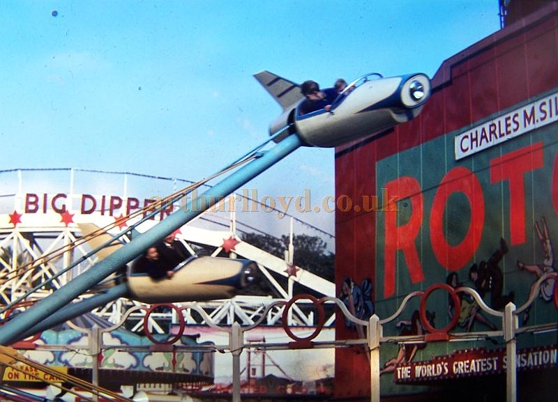 Battersea Park's Rotor in the early 1960s