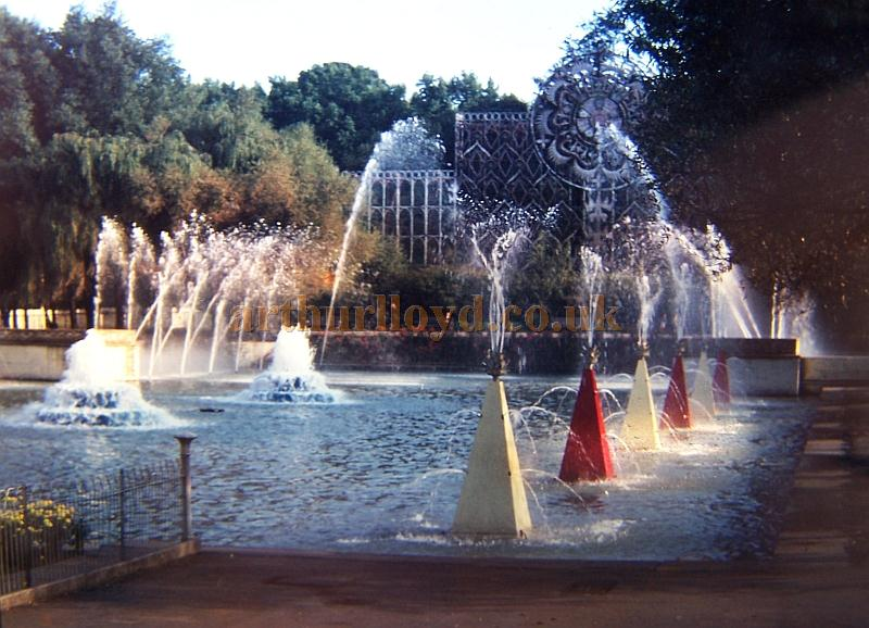 Battersea Park Fountains in the early 1960s
