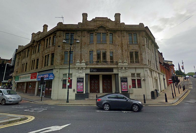 A Google StreetView Image of the former Empire Theatre, Rotherham - Click to Interact