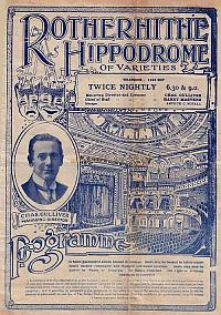 Programme for 'The Red Heads' at the Rotherhithe Hippodrome September 4th 1916 - Click to see entire programme.