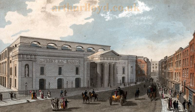 The Second Covent Garden Theatre of 1809 - From The Miriam and Ira D. Wallach Division of Art, Prints and Photographs: Print Collection.