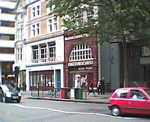 The Aldwych Underground Station was constructed on the site of the former Royal Strand Theatre.