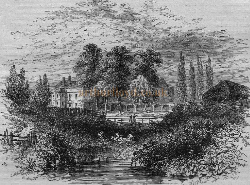 Sadler's Wells (From a view taken in 1756) - From 'Old & New London' 1897