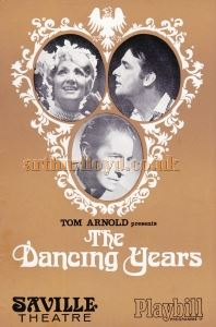 The Dancing Years Programme Cover