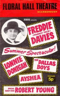 A 'Summer Spectacular' programme for the Floral Hall Theatre, Scarborough, undated but probably early 1970s.