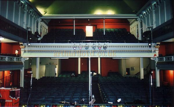 Theatres and halls in scarborough north yorkshire for Open balcony in a theatre