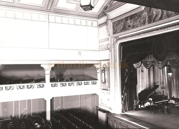 The auditorium of the Spa Theatre, Scarborough - Courtesy Adrian Tonner whose grandfather, Moses Halladjian,  took the photograph and was a freelance photographer in Scarborough from 1925 to 1937