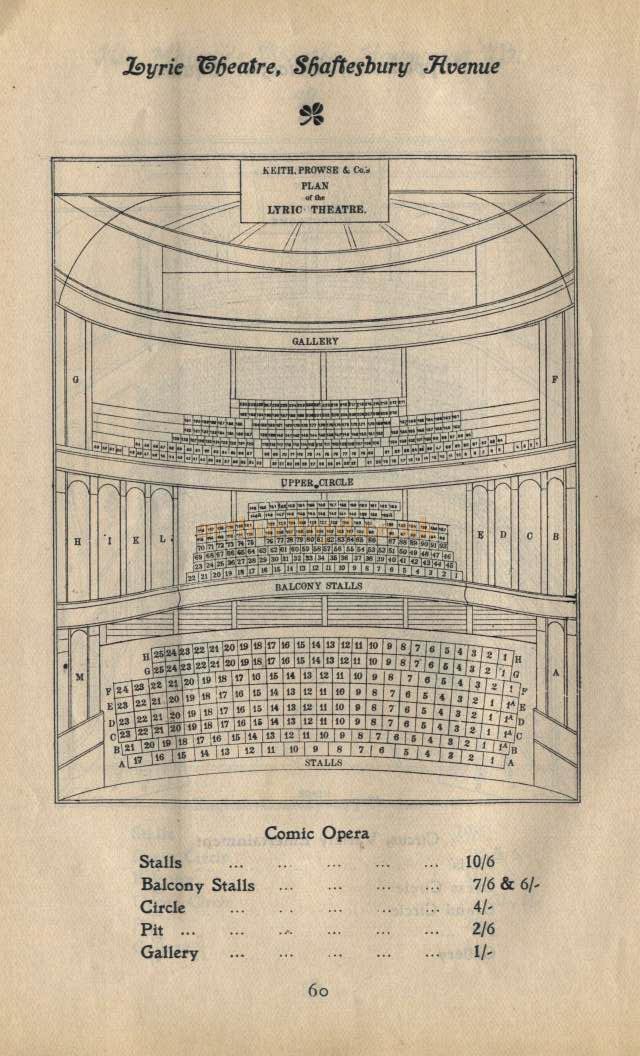 Lyric lyric theatre london : The Lyric Theatre, Shaftesbury Avenue, London, W.1