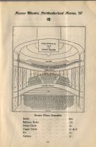 A Pre 1907 Avenue Theatre seating plan - Click to enlarge