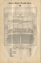 A Pre 1907 Seating Plan for the Criterion Theatre.