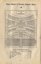 Empire Theatre of Varieties seating plan - Click to Enlarge