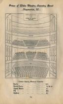 A pre 1907 seating plan for the Prince's Theatre, later the first Prince Of Wales Theatre - Click to enlarge.