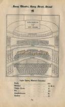 Seating Plan for the original Savoy Theatre - Click to Enlarge.