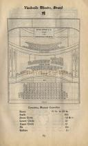 Seating Plan for the Vaudeville Theatre Pre 1907 - Click to Enlarge.