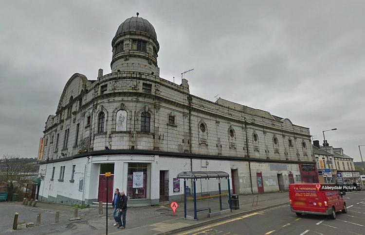 A Google StreetView image of the Abbeydale Picture House, Sheffield - Click to Interact