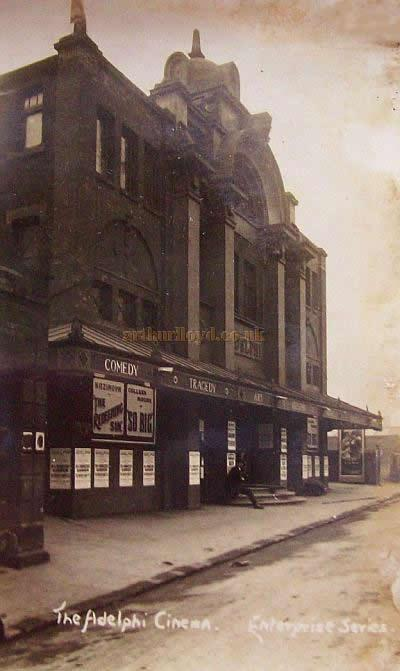 The Adelphi Theatre, Sheffield - Courtesy Lavonne Wiencek