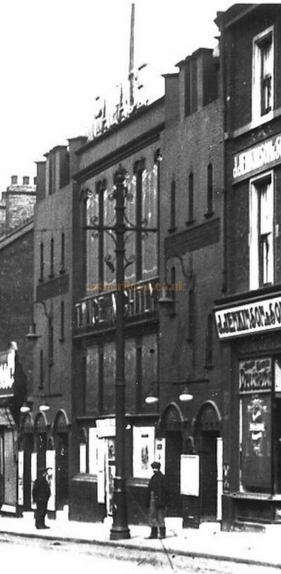 The Palace Theatre, Attercliffe, Sheffield - Courtesy Maurice Friedman, British Music hall Society