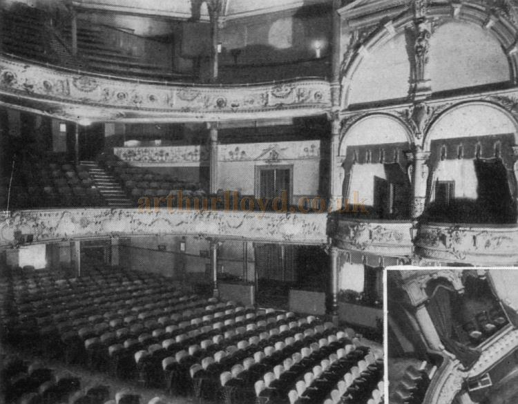The Auditorium of the Sheffield Empire - From the Moss Empires Jubilee Brochure of 1949