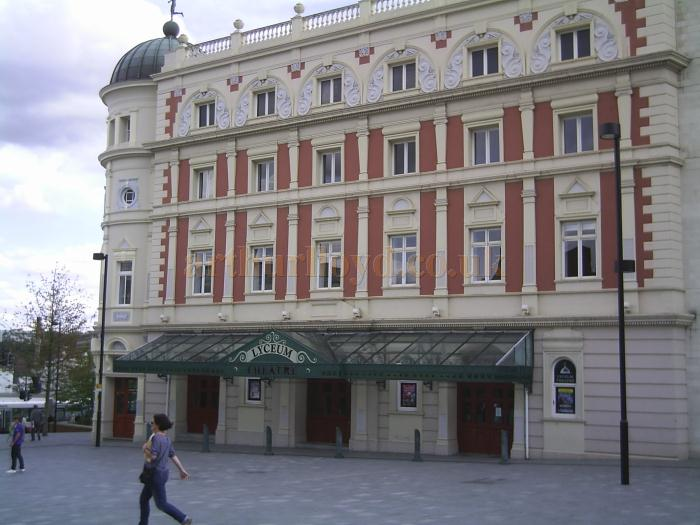 The Lyceum Theatre, Sheffield in August 2011 - Courtesy Allan Hailstone.