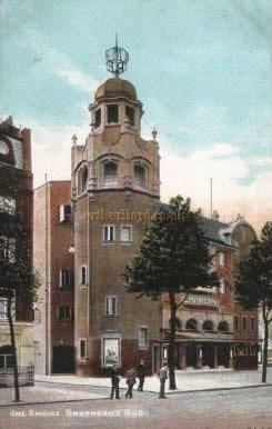An original postcard showing the Shepherds Bush Empire in its early years.