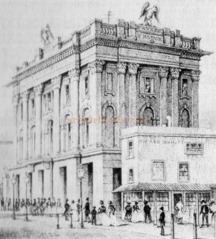 The 1875 Grecian Theatre, Shoreditch - Held in the Islington Public Library