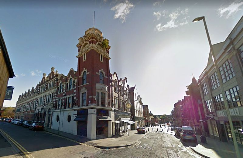 A Google StreetView Image of the former Assembly Hall / Scala / Gaumont Cinema, South Shields - Click to Interact.