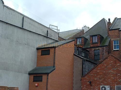 The rear of the South Shields Empire Theatre in 2008 - Courtesy  John West.