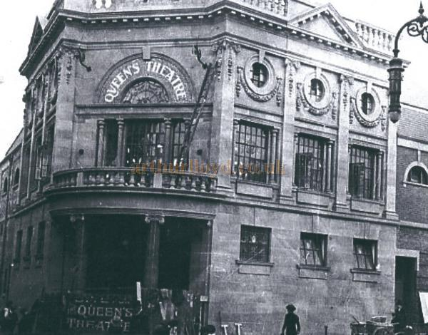 The Queen's Theatre, South Shields - Courtesy Alan Chudley
