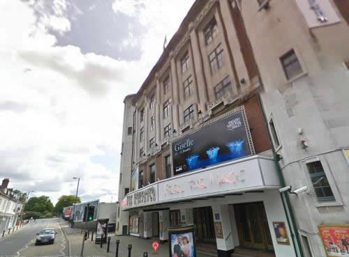 A Google Streetview image of the Southampton Mayflower Theatre - Click to Interact.