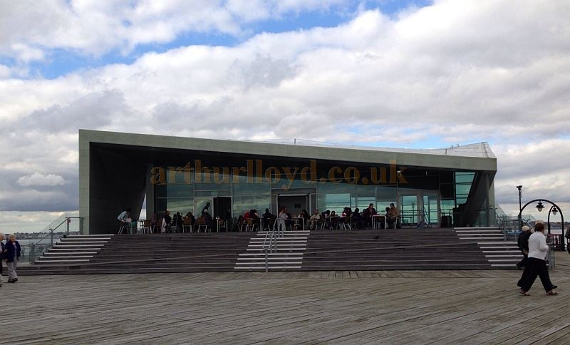 The Royal Pavilion Cultural Centre, Southend Pier, in September 2014 - Courtesy Gemma Gowings