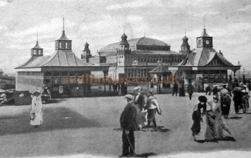 The Pier Pavilion Theatre, Southport - Courtesy George Richmond and the Crosby Archive