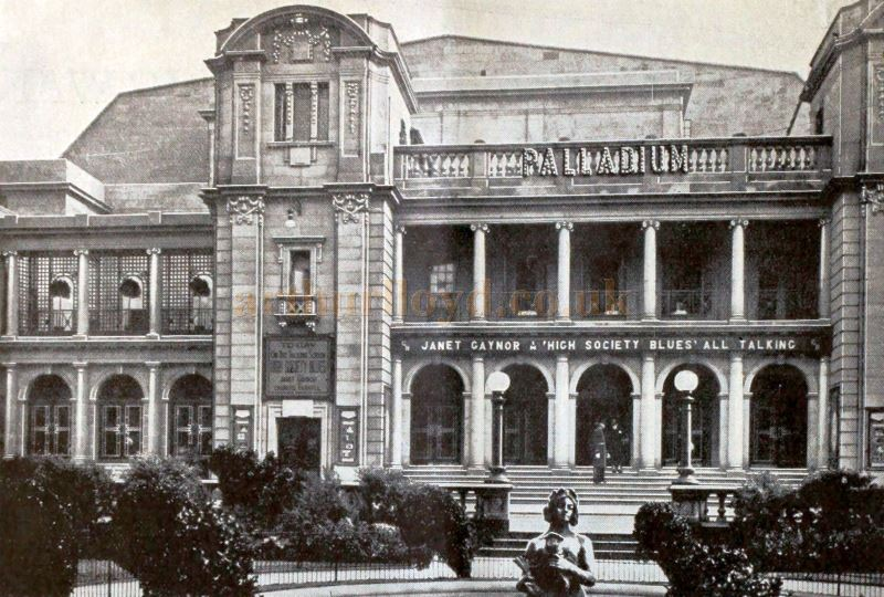 The Southport Palladium - From a Chloride Batteries Advertisement in the Bioscope, April 1932.