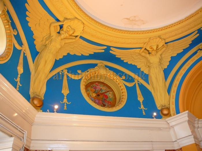 A Detail of the Foyer Ceiling at the King's Theatre, Southsea in 2011 - Courtesy B.F.