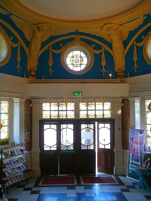 The Foyer of the King's Theatre, Southsea in 2011 - Courtesy B.F.