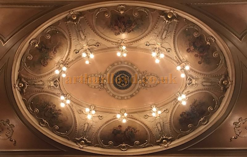 The Auditorium Ceiling of the King's Theatre, Southsea in April 2017 - Courtesy Michael Shaw.