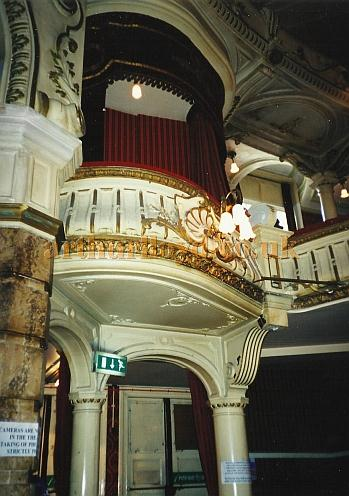 An Auditorium Box at the King's Theatre, Southsea in 2000 - Courtesy David Garratt.