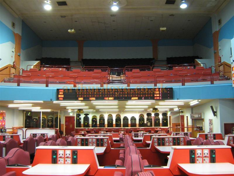 The auditorium of the St. Helens Hippodrome during Bingo use in March 2010 - Courtesy K.R.