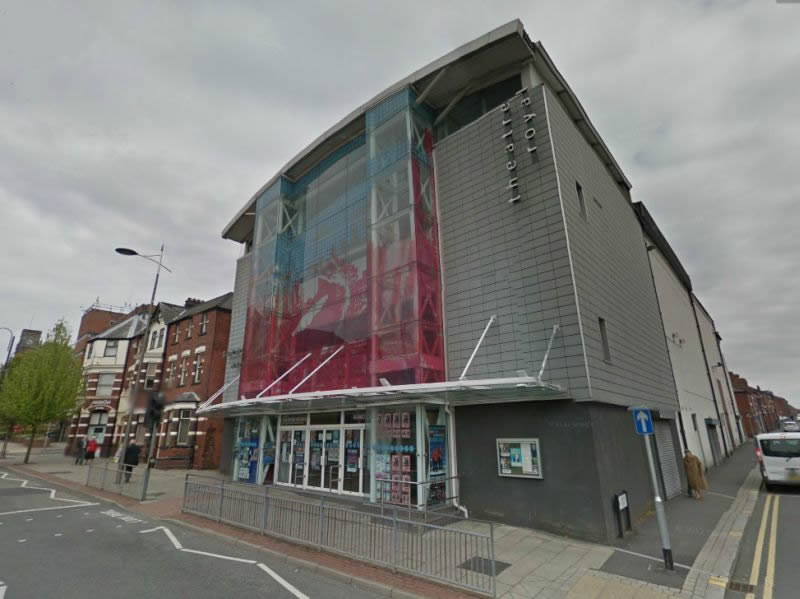 A Google StreetView Image of the Theatre Royal, St. Helens - Click to Interact