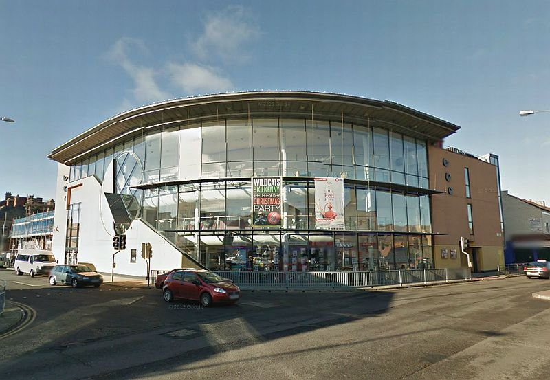 A Google StreetView Image of The ARC Theatre and Arts Centre which stands on the site of the former Hippodrome Theatre, Stockton-on-Tees today - Click to Interact