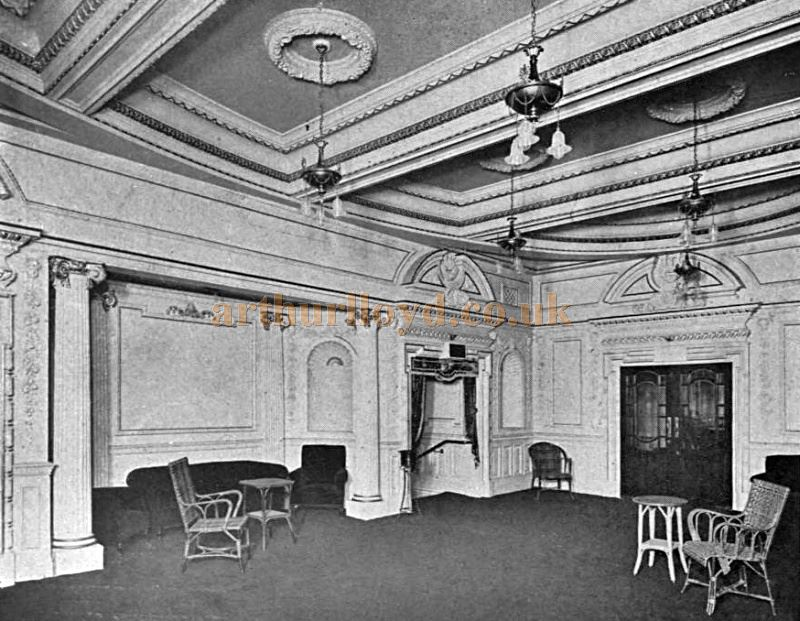 The Circle Foyer of the London Opera House - From the Academy Architecture and Architectural review of 1912.