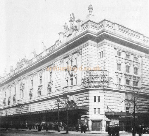 The London Opera House, Kingsway, later to be renamed the Stoll Theatre.