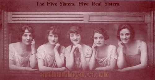 The Five Sisters - From an early Postcard