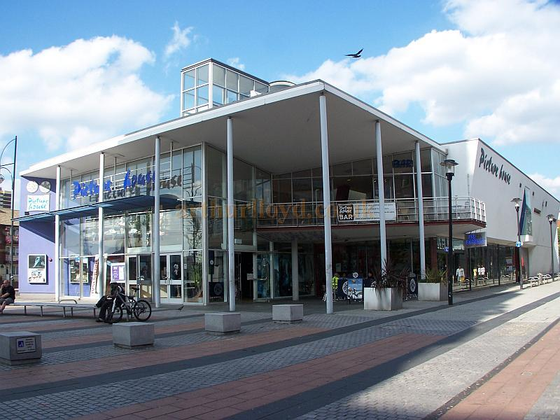 The picturehouse cinema complex on gerry raffles square stratford