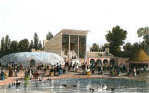 Surrey Zoological Gardens in 1851 - Richardson J. London and Its People, 1995